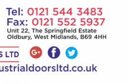 I & S Ind Door Logo